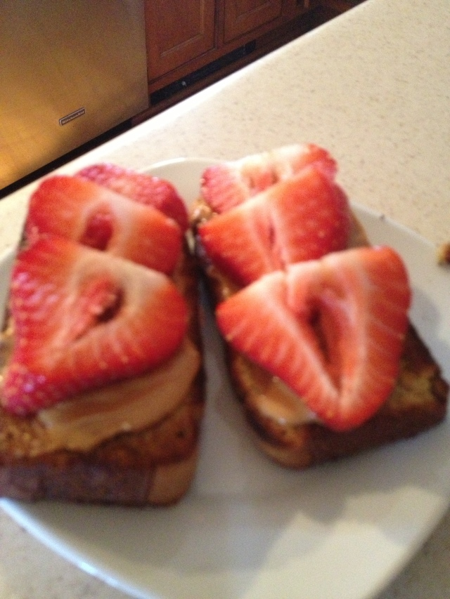 Paleo  Twist on a PB&J sandwich
