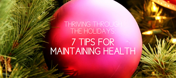 Thriving through the Holidays